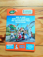 """BD+ régle NEUF""""Parc Astérix""""collection Tour de France 2021 goodies caravane vélo"""