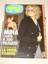 TV SORRISI CANZONI=1974/43=MINA=ORIETTA BERTI=TV RAGAZZI=EUMIR DEODATO=BELLI L.