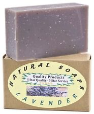 100% Natural & Organic. Handmade Lavender Soap, Use on Hands, Face, or Body!