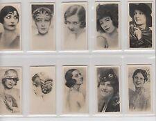 Notaras Cigarette Cards Set 36  National Types of Beauty  1925  Near Mint