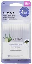 Almay Oil-Free Makeup Eraser Sticks 24 Count Hypoallergenic *Twin Pack*