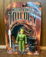 Sonya Blade Vintage Mortal Kombat Trilogy Figure New 1998 Toy Island Black 90s