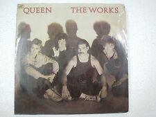 QUEEN THE WORKS RARE LP record vinyl INDIA INDIAN 171 ex