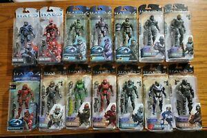 McFarlane Halo Original 4 5 Action Figure Lot of 14 RARE Exclusives Army Builder