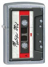 Zippo Lighter: Cassette Tape - Street Chrome 79479