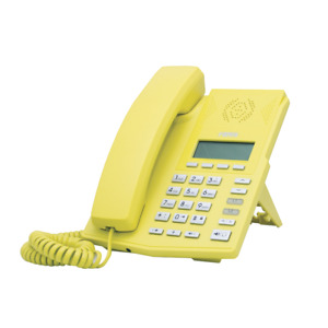 Fanvil IP Phone X3P Yellow Color 2 SIP Lines HD Audio 3 Way Conference Fast ship