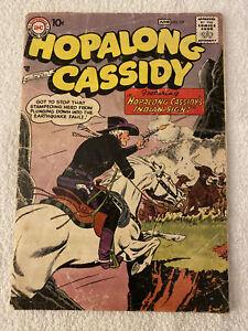 """HOPALONG CASSIDY DC COMIC #129 * """"Indian Sign"""" * June, 1958 * Fair/Good"""