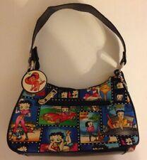 Betty Boop Canvas Schultertasche Shopper Tasche p44 w2028