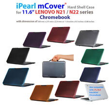 "NEW iPearl mCover® Hard Shell Case for 11.6"" Lenovo N21 N22 CTL NL6 Chromebook"