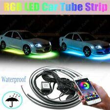 For Chevrolet App Control Rgb Car Led Strip Tube Underbody Neon Light 4x