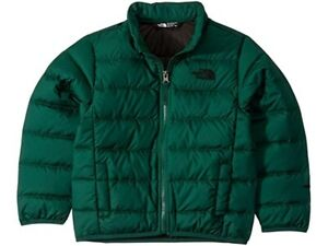 The North Face Boys Andes Green Puffer Youth size XS/6 Winter Jacket 550 Down