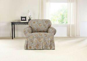 Waverly Tennyson Topaz 1 Piece Chair Slipcover