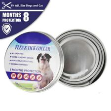 New listing Adjustable Flea and Tick Collar Anti Insect for Pet Dog Cat Safe Pests ControlUs