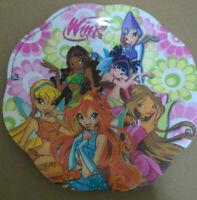 Piatto piano in plastica Winx per la scuola materna elementare pappine fantastic