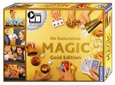 Kosmos Zauberschule Magic Gold Edition 150 Tricks Kartentrick Zauberkasten NEU