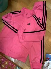 Girls Adidas Track Suit Brand New Size 6