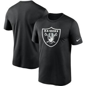 Las Vegas Raiders T-Shirt NFL Mens Nike Sideline Performance T-Shirt - New