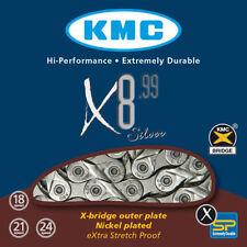 Cadenas KMC para bicicletas con 8 velocidades
