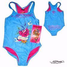 Vêtements maillots de bain bleu en polyester pour fille de 2 à 16 ans