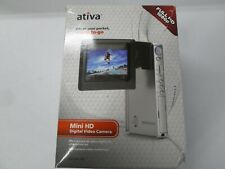 Ativa digital pocket camcorder Model V-22Takes stunning, Full HD digital