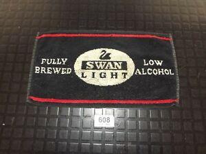 Swan Light Low Alcohol  Bar Towel,collectable,Man cave  (608)