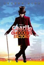CHARLIE & THE CHOCOLATE FACTORY -2005- Orig 27x40 Adv Movie Poster - JOHNNY DEPP