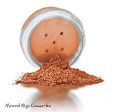 """PERFECT TAN""  100% Natural Mineral Bronzer Glow Powder 10ml jar with 3g"