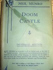 Doom Castle ~ Neil Munro ~ Inveraray Edition 1958