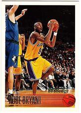 1996-97 TOPPS ROOKIE CARD RC #138: KOBE BRYANT - LOS ANGELES LAKERS ALL-NBA MVP