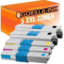 5x cartouche de Toner XXL Pour Oki C310 DN MC361 dn MC362 dn MC 561 dn MC562 dn