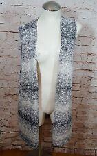Chicos sweater vest long Duster Gray women's 3 B04