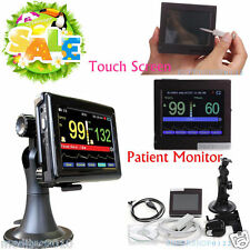 PM60A Touch Screen Pulse Oximeter Blood Oxygen Monitor SPO2,PR,Software SD Card