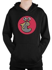 Slogoman Slug Hoodie Youtube Gamer Vlogger Sweatshirt Jumper Kids Adults