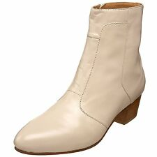 Giorgio Brutini CALLOWAY Mens Cream 805759-2 Side Zip Cuban Heel Boots