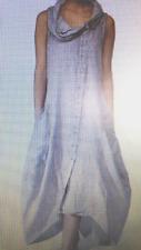 "Grey Cowl neck  Dress Size 12/14 Bust 40"""