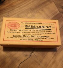 South Bend Bait Bass-Oreno B.A.S.S. Collector's Series Lure+Box & Insert
