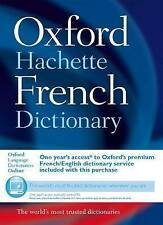 Oxford-Hachette French Dictionary-ExLibrary