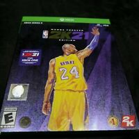 NBA 2K21: Mamba Forever Edition - Xbox Series X Kobe New Sealed