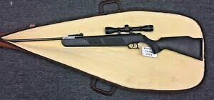 Beeman 1071 Wolverine Carbine .177 Caliber Pellet Air Rifle with Scope + Case
