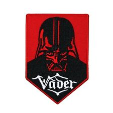 "Darth ""Vader"" Sith Lord Patch Star Wars Dark Side Force Badge Iron-On Applique"
