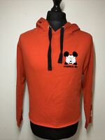 Disney Tally Weijl Mickey Mouse Surprise Me Red Cropped Hoody Hoodie Top M