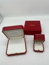 Genuine Cartier jewelry ring box JUNK  2set gift  case Authentic 0528004A159