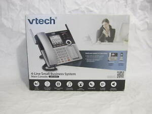 New Sealed Vtech 4 Line Small Business Sys Main Console (CM 18445)