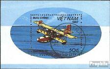 Vietnam Block57 (kompl.Ausg.) gestempelt 1987 Flugzeuge EUR 1,60