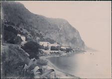 France, Beaulieu-sur-Mer, Vue panoramique  Vintage citrate print Tirage citr