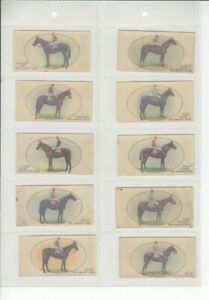 Players - Derby and Grand National Winners 1933. Full set of 50 (Transfers)