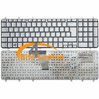 Genuine HP Pavilion DV7-1060EC DV7-1055EA Laptop keyboard UK Silver