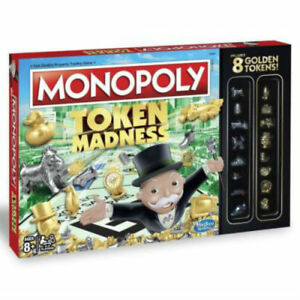 Monopoly Token Madness Board Game New & Sealed