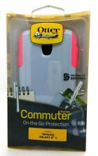 OtterBox Commuter Series Case Cover For Samsung Galaxy S4 Orchid Grey Blaze Pink