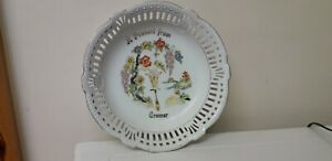 REALLY PRETTY...RETRO..BONE CHINA ..BOWL..PRESENT FROM CROMER..CUT OUT DESIGN